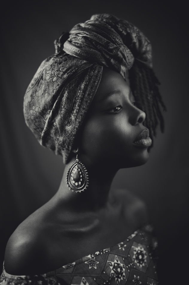 image of an African woman