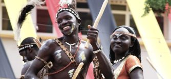 Image of a musoga dancing