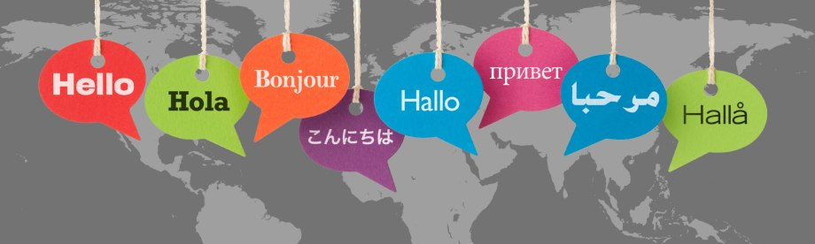 picture of languages being translated