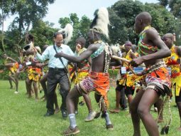 Image of the Kiga dancing