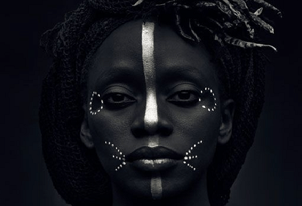 Picture of an African woman